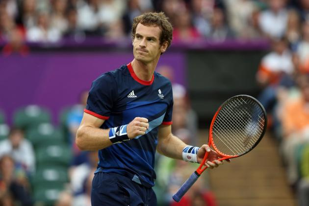 Olympic Tennis Results 2012: Andy Murray and Others Poised for Medal Glory