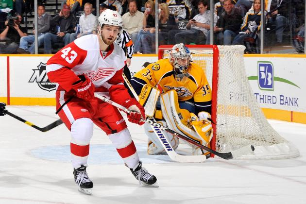 Red Wings Draft Pick Andreas Athanasiou Proves a Lot in Limited Time