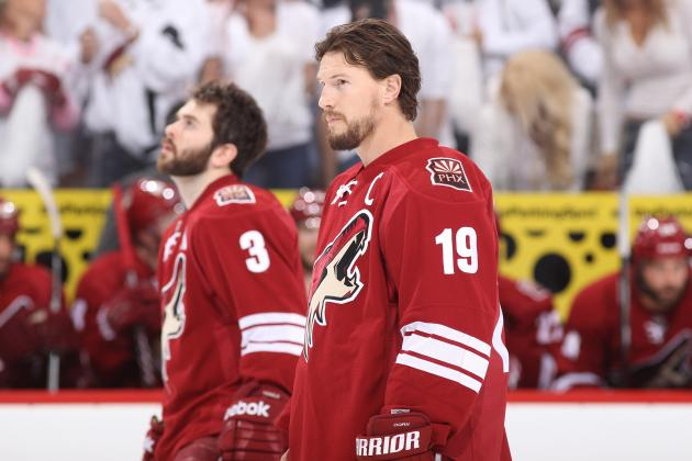 Red Wings Wait as Shane Doan Sweepstakes Continues
