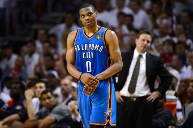 Oklahoma City Thunder's Real Title Chances Rest Solely on Russell Westbrook