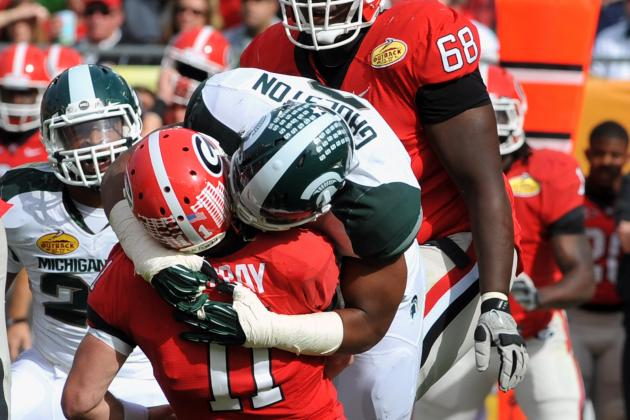2012 Hendricks Award Watch List: For Big Ten, It's Simon and Gholston at the Top