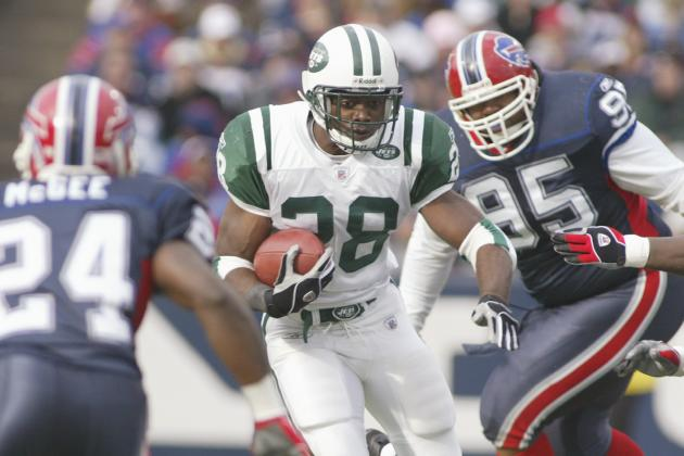 New York Jets Will Retire the Numbers of Curtis Martin and Dennis Byrd in 2012