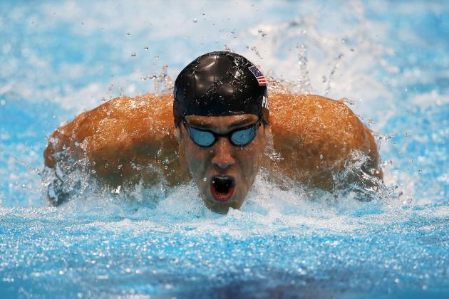 Olympic Swimming 2012 Results: Phelps Is Ready to Break All-Time Medals Record