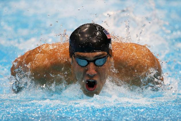 Michael Phelps Wins Gold, Sets Olympic Record with 19th Medal in 4x200 Freestyle
