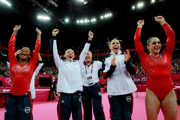 US Women's Gymnastic Olympic Team 2012: Gold Medal Makes Up for Men's Slip-Up