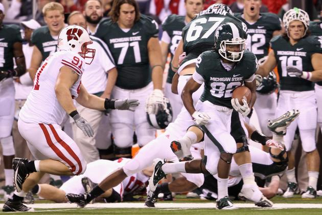 Michigan State Values Emerging, 'intense' Rivalry with Wisconsin
