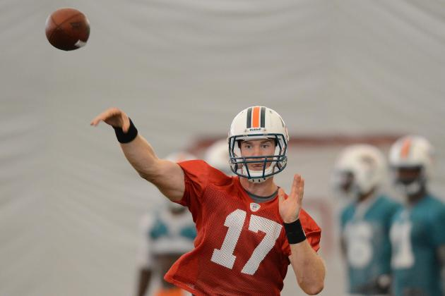 Tannehill Turning It Around with Strong Early Training Camp Performance