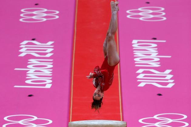 Breathtaking Vaulter McKayla Maroney at Heart of US Olympic Gymnastics Title
