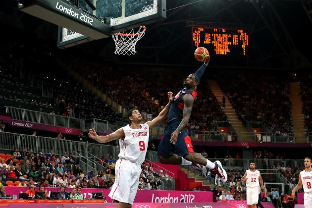 LeBron James: Team USA Basketball Video Highlight Versus Tunisia