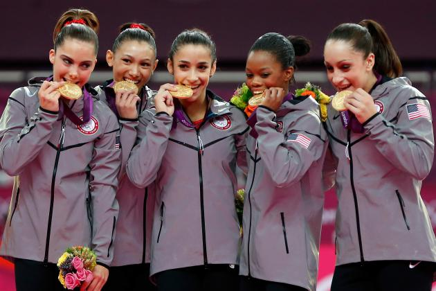 US Women's Gymnastic Olympic Team 2012: Historic Win Highlights Team's Greatness
