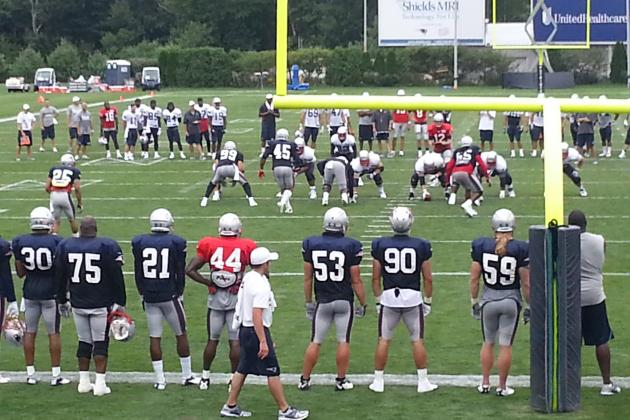 New England Patriots Training Camp: Observations from Day 5 of Practice