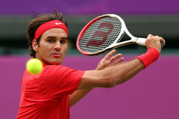 Olympic Tennis 2012: Roger Federer Is on Track to Win Olympic Gold