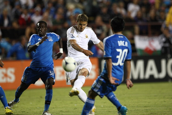 San Jose Earthquakes and Swansea City's Absorbing Friendly Ends in 2-2 Draw