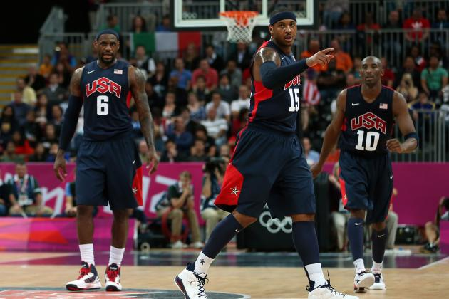 Team USA Delivering on the Hype at the 2012 Olympics