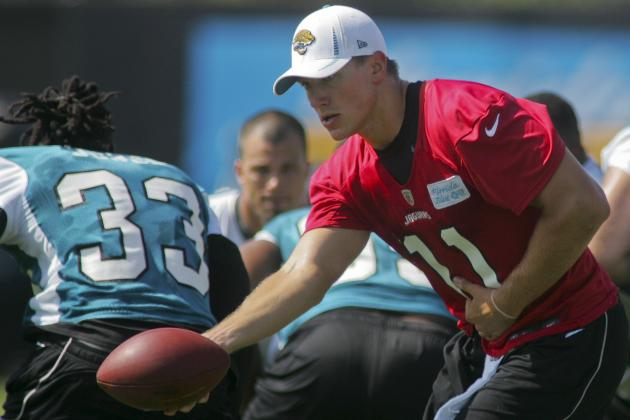 Jacksonville Jaguars' Training Camp Headlines: Is Blaine Gabbert Improving?
