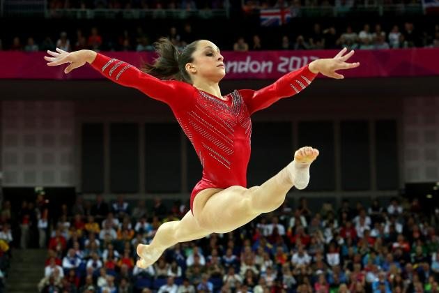 Jordyn Wieber Floor Routine Was Perfect Response to All-Around Disappointment