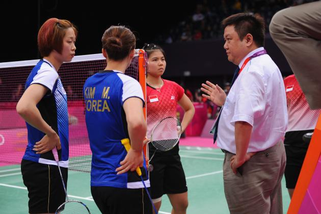 Olympic Badminton: Four Teams Thrown Out of Games for Trying to Rig Results