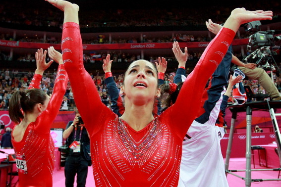 Aly Raisman Individual All Around: When and Where to Watch Gold-Medal Effort