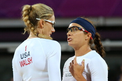 Misty May-Treanor & Kerri Walsh 2012 Olympics: Wednesday Results & Highlights