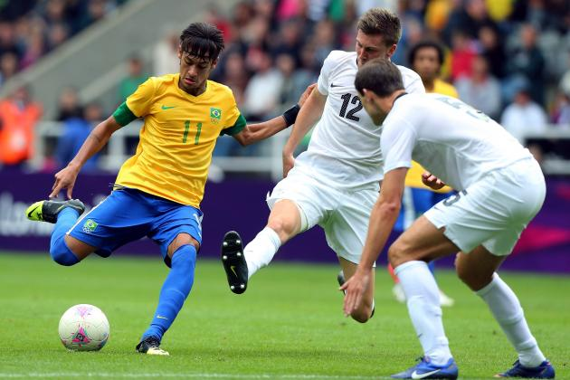 Olympic Soccer 2012: Brazil Dominates New Zealand to Sweep Group Stage