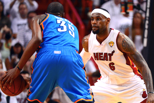 Kevin Durant vs. LeBron James: Who Is the Early Favorite for 2012-13 NBA MVP?