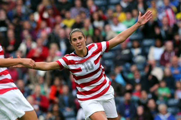 USA Women's Olympic Soccer Team: Why Carli Lloyd Can Be Their Quarterfinal Hero