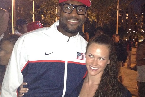 LeBron James' Dinner Offer Turned Down by Olympic Swimmer Lauren Perdue
