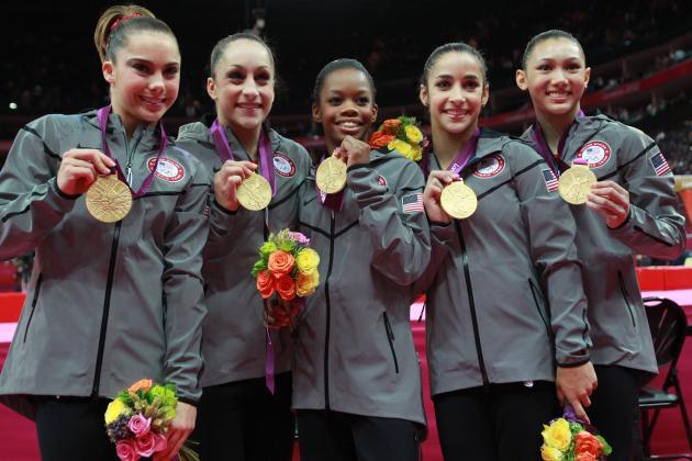 US Women's Gymnastics Olympic Team 2012: Where 2012 Team Ranks Among Best Ever