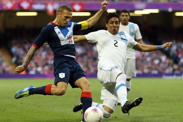 Team GB: Uruguay Defeated as Stuart Pearce's Men Top Olympic Football Group