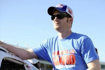 FYI WIRZ: NASCAR Star Dale Earnhardt Jr. Rides Point Lead over Fast Dozen