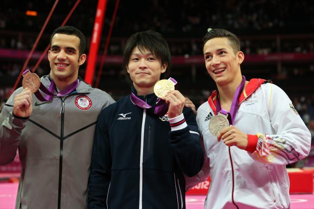 Men's Gymnastics Results 2012: Top Moments from Individual All-Around Event