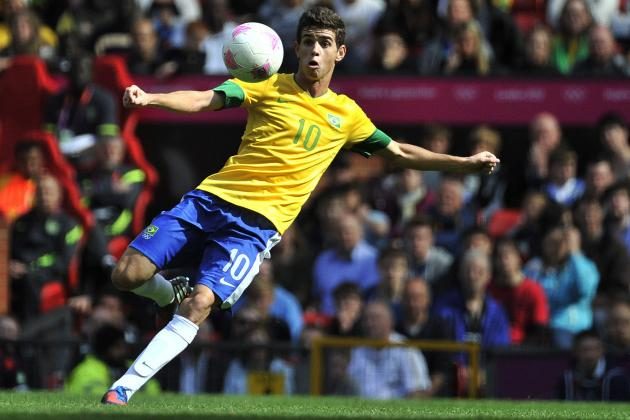 Why Oscar Has Been the Star of the Men's Olympic Football Tournament
