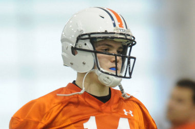 Former 4-Star QB Recruit Zeke Pike Won't Return to Auburn