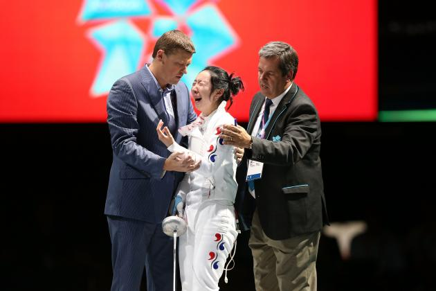 S. Korean Fencer Screwed Over By 15-Year-Old Timekeeper