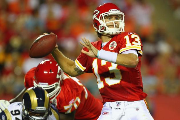 Odds Ricky Stanzi Sees Significant Playing Time for Kansas City Chiefs in 2012
