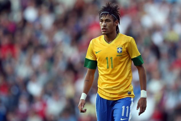 Olympic Soccer 2012: Neymar Has Turned London Games into His Playground