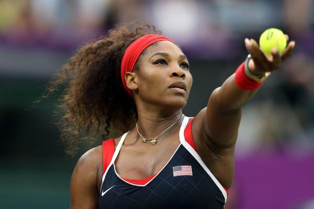 Serena Williams Ousts Caroline Wozniacki to Advance to Olympic Tennis Semifinals
