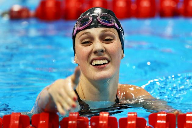 Missy Franklin: American Swimmer Will Dominate in Women's 200m Backstroke Finals