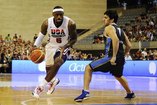 Olympic Basketball Schedule 2012: Ranking Best Matchups Left in Group Play