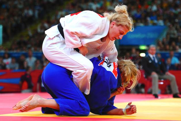 Kayla Harrison Captures 1st-Ever USA Olympic Women's Judo Gold Medal
