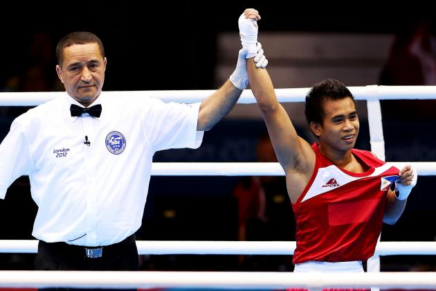 Pacman Sweetens Olympic Pot for Barriga