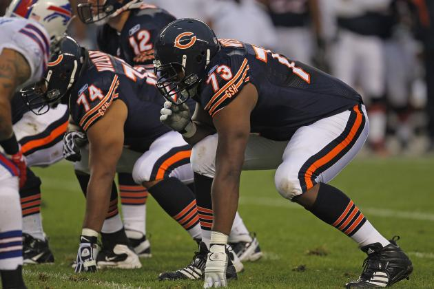 Chicago Bears Training Camp Offensive Line Update: Webb, Carimi and Williams