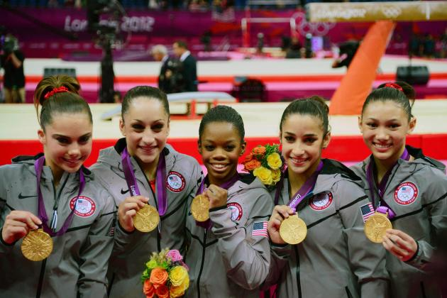 US Women Gymnasts Continue to Dominate Olympic Competition