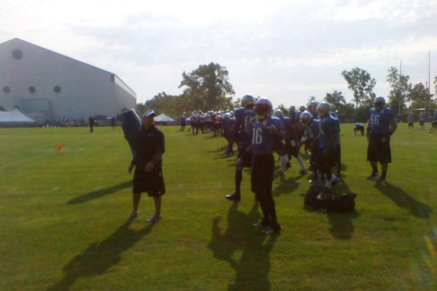 Detroit Lions Thursday Training Camp Lowdown