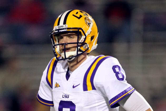 LSU Football: Why QB Zach Mettenberger Must Start Red-Hot in 2012