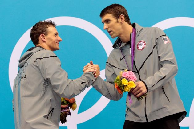 Ryan Lochte: Despite Successes, Lochte Will Always Be No. 2 to Michael Phelps