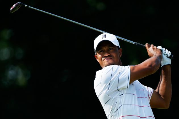 Bridgestone Invitational 2012: Day 1 Leaderboard Updates, Highlights and More