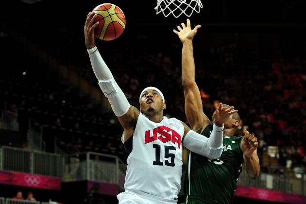 USA Breaks Olympic Basketball Scoring Record vs. Nigeria
