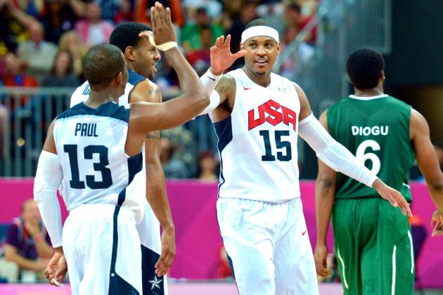 USA vs. Nigeria Olympic Basketball: Grades, Twitter Reaction and Analysis