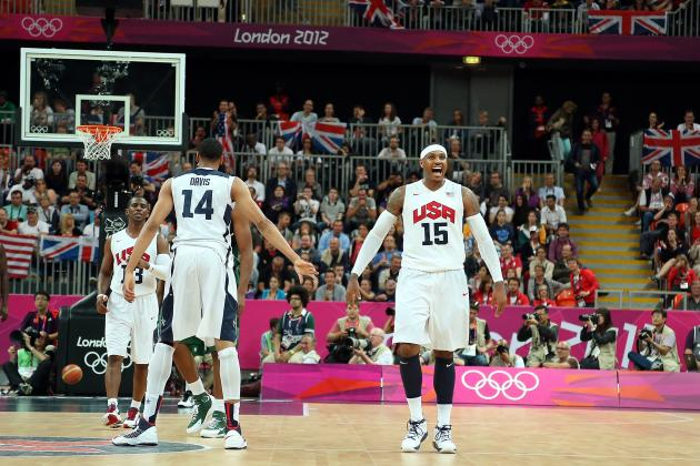 Team USA Basketball 2012: Carmelo Anthony's Brilliance Asserts Olympic Dominance